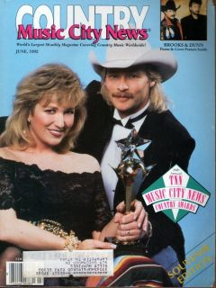Alan Jackson Tanya Tucker Brooks Dunn 1992 Music City News D3