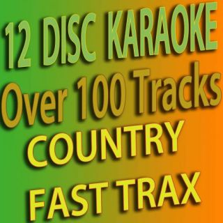 Set from 400 to 412 Country Karaoke CDG Great Songs in One Set
