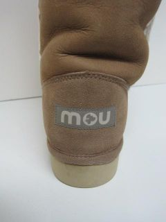 mou womens stone suede tall eskimo boots 41 $ 230