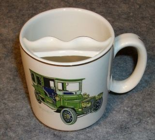 VTG LORD NELSON POTTERY 1905 Austro Daimler Antique Car Mustache Cup