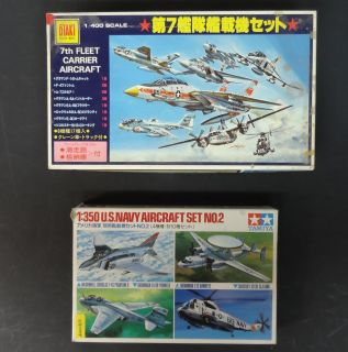 350 and 1 400 US Navy Aircraft Kits
