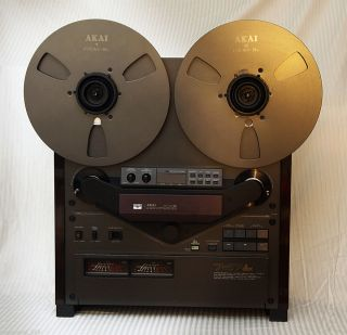 Akai GX 747 DBX Open Reel to Reel Tape Recorder Tape Deck Serviced