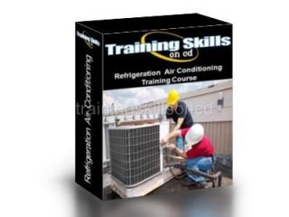 Refrigeration Air Conditioning Cooling Equipment PDF Manuals on CD