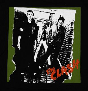 The Clash Self Titled Album Cover Punk Rock Band T Shirt Tee
