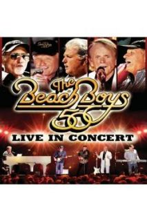 Beach Boys Live in Concert   50th Anniversary DVD Cover Art
