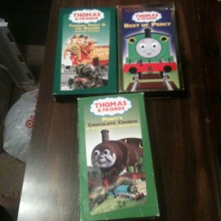 Thomas And Friends Vhs Movie Tapes Percy George Carlin Alec Baldwin
