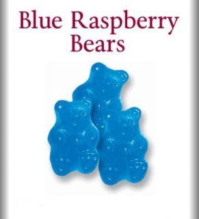 Albanese Blue Raspberry Gummy Bears 2 lbs Gummi Bears