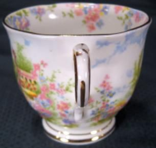 Royal Albert Staffordshire China Kentish Rockery Country Garden Cup