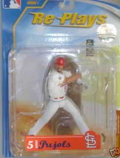 MLB re Plays Series 1 Albert Pujols Cardinals Figure