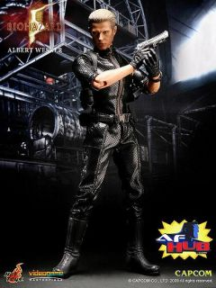 Hottoys Hot Toys Biohazard 5 Albert Wesker Midnight Resident Evil