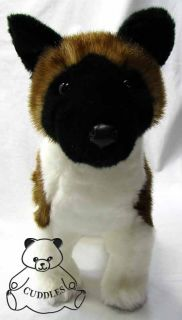 Kita Akita Dog Douglas Cuddle Plush Toy Stuffed Animal Realistic Puppy