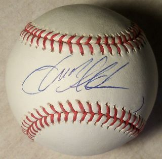 JASON ALDEAN SIGNED AUTOGRAPH OFFICIAL MAJOR LEAGUE BASEBALL EXACT