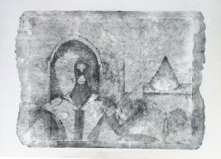 autor rufino tamayo titulo el ermitano medio grafica tecnica