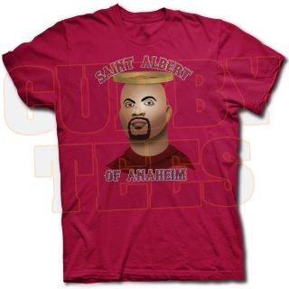 Saint Albert Pujols of Anaheim Angels Tee Shirt The Machine Hits Los