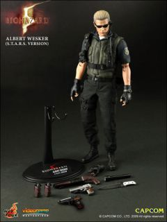 Albert Wesker s T A R s Version Hottoys 1 6 Scale Figure