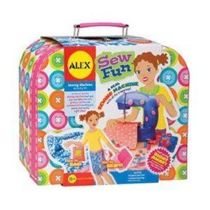 Alex Toys Sew Fun New Sewing Kits Craft Crafts Arts Games Toys
