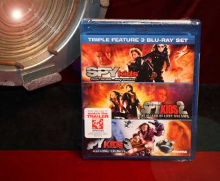 Spy Kids Signed Autograph UACC Movie Prop Costume Blu Ray DVD COA Fast