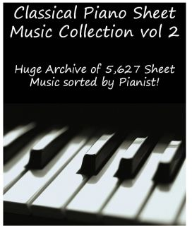 CLASSICAL PIANO SHEET MUSIC COLLECTION in DVD vol. 2 Strauss Salome