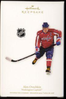Alex Ovechkin Hockey Washington Capitols yr 2011 Hallmark Ornament