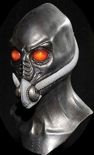 Time Traveler Resurrection Alien Halloween Mask Costume