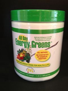 All Day Energy Greens Hi Octane Energy Drink Power IVL Powder Canister
