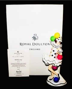 Royal Doulton Harlequina Balloon Clowns Figurine HN5306