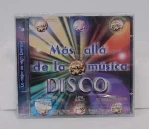 Mas Alla de La Musica Disco Lo Mejor de High Energy CD