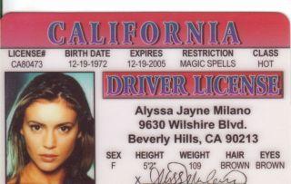 Pick Alyssa Milano of Charmed Alicia Silverstone Heath Ledger J Lo or