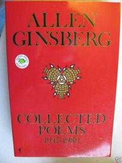 Allen Ginsberg SignedCollected Poems 1947 1980EC