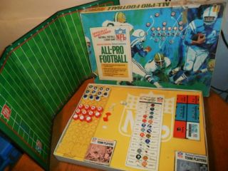 Vintage 1960s Ideal All Pro Football Game in Box NFL