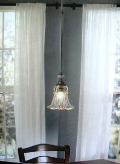 Allen Roth Pendant Light Lamp Crystal Glass Kitchen Bar
