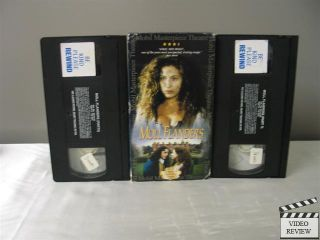 Moll Flanders (VHS, 1999, 2 Tape Set) Daniel Craig Alex Kingston