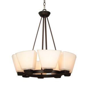 Light Dark Oil Rubbed Bronze Chandelier allen roth LPH 9909 8