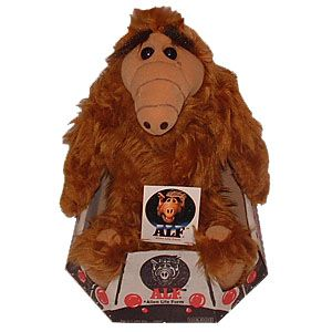 ALF Alien Life Form 18 inch Plush Toy New Mint in Box