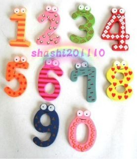 Colourful Magnetic Numbers Alphabet Fridge Magnets toy Free Shipping