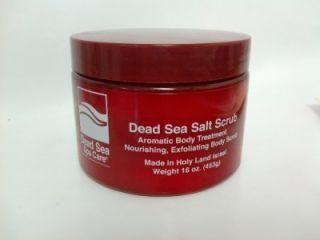 16 oz Dry Dead Salt Scrub by Dead Sea Spa Care