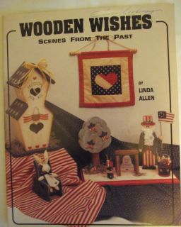 WISHES SCENES FROM PAST BY LINDA ALLEN OOP FOLK ART TOLE PAINTING BOOK