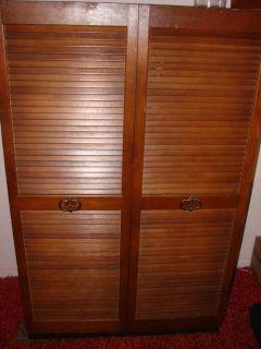Wood & Tin Metal Portable Closet Wardrobe Armoire Cabinet Coat Rack
