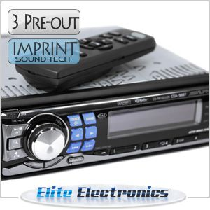 Alpine CDA 9887 Car Stereo CD iPod Headunit Receiver