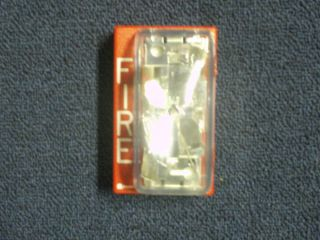 Simplex 4903 9137 Fire Alarm Strobe 15CD Red 24VDC Non Smart Sync