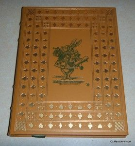 Alices Adventure in Wonderland Book Lewis Carroll The Franklin