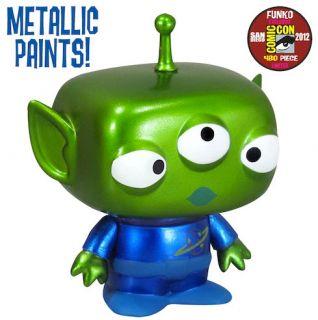 Funko Alien Toy Story 2012 SDCC Metallic Paint POP Vinyl Figure 4