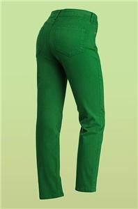 NYDJ not Your Daughters Jeans Alisha Skinny Ankle Pants Green 8 Petite
