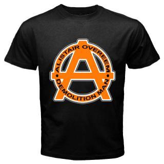 New Alistair Overeem Demolition Man Logo Black T Shirt