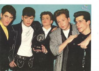 New Kids on The Block Full Page Pinup NKOTB Chad Allen
