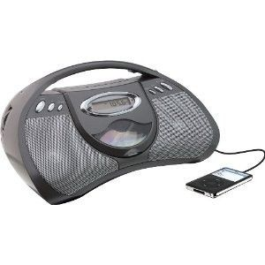 GPX Portable CD Player AC or Battery Power Am FM Radio Line in for MP3