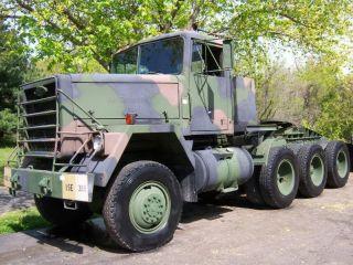 M920 AM GENERAL 8x6 MILITARY TRUCK REBUILT! 121miles m818 m916 m931