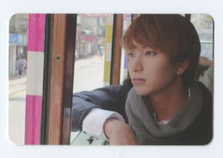 Super Junior BONAMANA 4th Album OFFICIAL PHOTOCARD LEETEUK Version