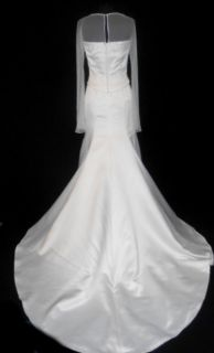 899 Ivory 10 Informal Wedding Dress Bridal Gown Barbara Allin