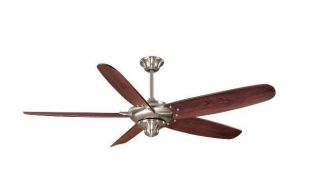 Hampton Bay Altura 68 inch Ceiling Fan with Remote Control Brushed
